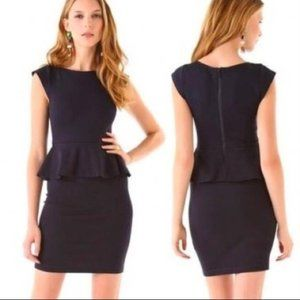 Alice + Olivia Employed Victoria Peplum Dress